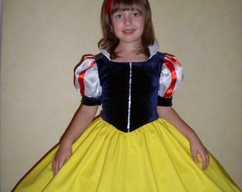 Girl's Snow White Carnival Costume