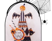 Brooke's Books Bewitching Bridget Hat Cross Stitch Chart-Only