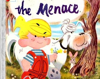 Dennis the Menace Rand McNally Elf Book c. 1956