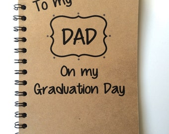 Graduation Gift Personalized Graduation Notebook Daughter