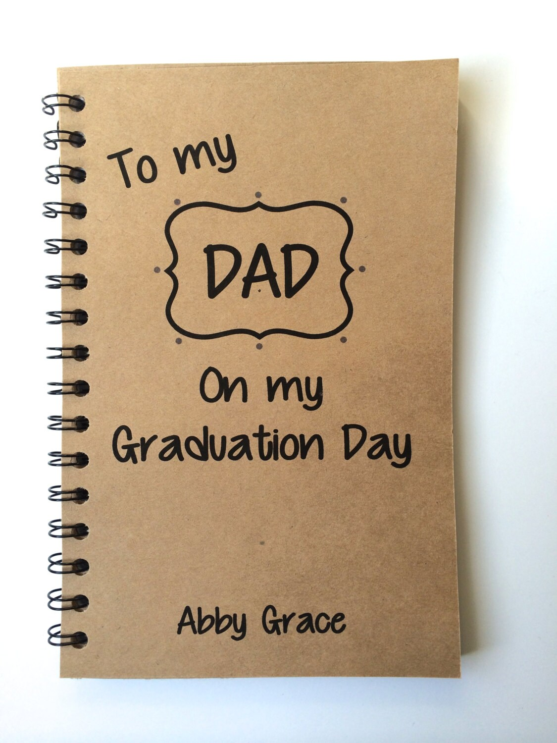 Father Graduation Day Gift From Daughter From Son