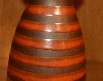 Otagii Brown and Burnt Orange Vase