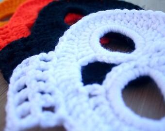 Crocheted Skull Coaster/Decoration