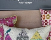 Wonky Little Houses Pillow Pattern ~ by Carrie Bloomston such DESIGNS