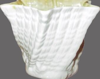 Belleek Octagonal Bowl