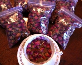 Organic Rosebuds For Tea