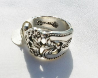 Beautiful Antiques Sterling Silverware Ring