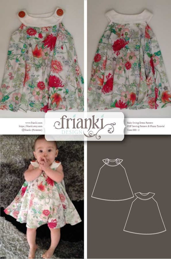 baby swing dress pattern 2