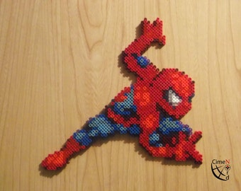 Spiderman Perler Beads