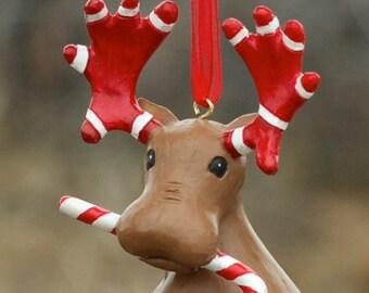 The Lost Moose Company Christmas Moose Ornaments