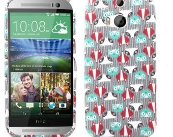 Clearance! HTC One M8 Case, Look Me Not TPU Silicone SkinPhone Case Cover