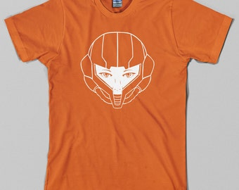 Metroid Samus Aran T Shirt  - nintendo, super snes, nes, gamecube, prime, super smash brothers - All sizes & colors available