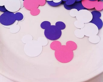 Minnie Mouse Confetti - Die Cuts - Party Supplies - Disney - Mickey Mouse