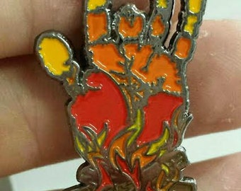 Fire on the Mountain - Jerry Garcia Grateful Dead Hat Pin