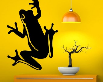 Frog Wall Decals Etsy