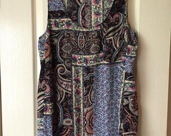 SecondSeasons Preloved Womens Shirt- Patterned Floral