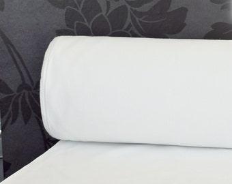 "Lining Blackout White 54"" 137 cm Drapery lining Custom made Curtain Valance Roman Shade Window treatments Supply Fabric By the yard TL01"