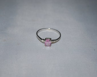 Sterling silver Amethyst ring size 8.5