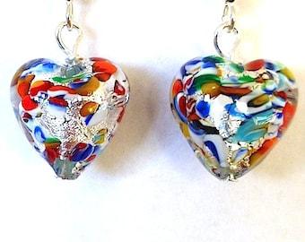 100% Murano Glass Earrings