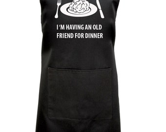 Funny Hannibal Cooking Apron, Fan of Hannibal