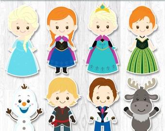 Frozen Centerpiece, Frozen Centerpiece, Frozen Cake Topper, Frozen Wall Decor