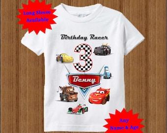 Cars Birthday Shirt - Disney Cars Shirt
