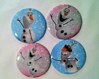 Olaf Frozen Mirrors, Party favors, Small gifts, Pocket mirrors, Stocking Stuffer, Birthday Party Favors, Girl Party