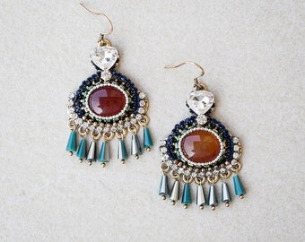 Precious Gems Earrings