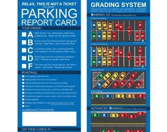 Parking Report Cards
