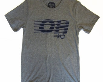 OH.IO Tshirt, Screenprinted Tshirt
