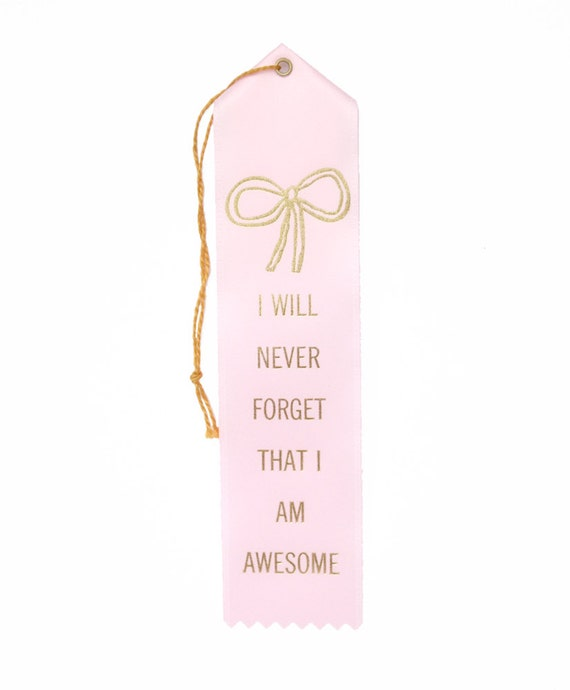 The You Are Awesome Ribbon Award