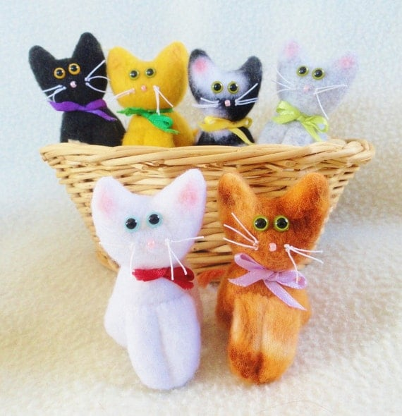 KITTIES KITTIES  KITTIES  to adopt - Cat Dolls by Joelle's Dolls