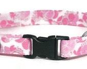 Cat Collar - Pretty Pinks - Breakaway Safety Cute Fancy Cat Kitten Collar