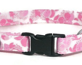 Cat Collar - Pretty Pinks - Breakaway Safety Cute Fancy Cat Kitten Collar
