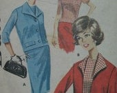 Butterick 2178, early 1960s suit