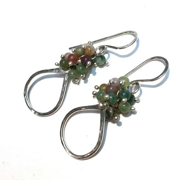 Small Jasper Teardrop Earrings - Choose Your Finish