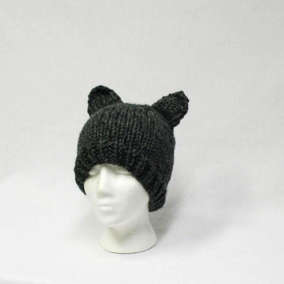 Knit Pattern Super Bulky Hat : Super Bulky Animal Cosplay Fun Hat knitting PATTERN super