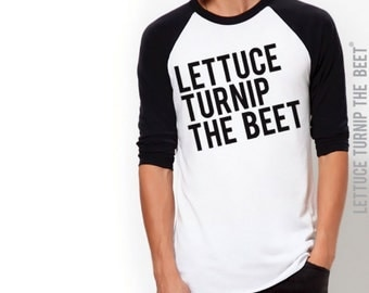 SALE lettuce turnip the beet ® trademark brand OFFICIAL SITE - black baseball jersey - lightweight fashion shirt