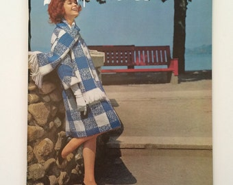 1960's Knitting Booklet - Fashion Excitement by Spinnerin