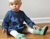 KNITTING PATTERN PDF File - Knit Baby Bootie Pattern - Baby Knit Boots Pattern - Bootie Pattern - Knit Baby Pattern - Baby Knitting Pattern