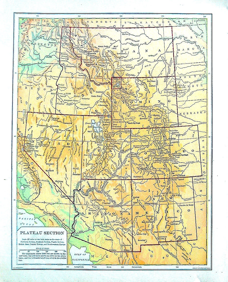 Mexican Plateau Map – Daily Motivational Quotes
