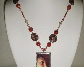 Hope Necklace in Copper inv55