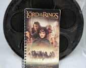 Lord of the Rings Recycled VHS Notebook