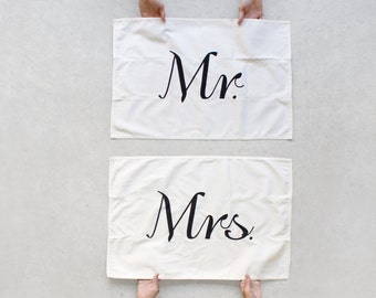 Tea towel set - mix and match - kitchen towels - wedding gift | housewarming gift - modern typography - Tea(m) Towels - Valentine's Day gift