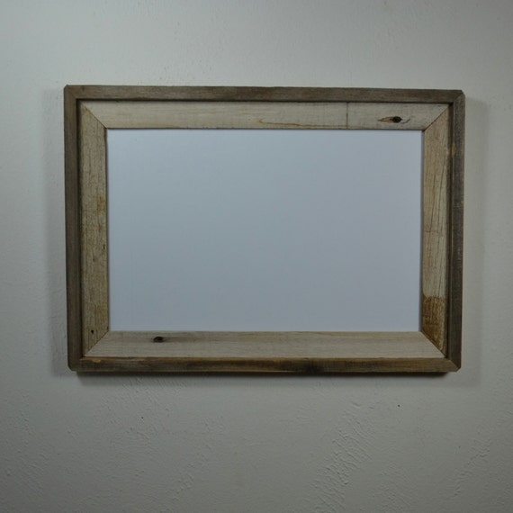 11x17 Poster Frame From Eco Friendly Reclaimed Wood By