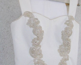 The Bustier and Pant Suit----Custom Wedding Suits with Corsets