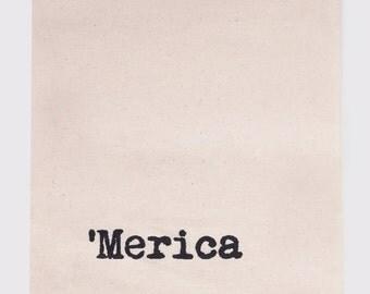 Merica - Flour Sack Tea Towel