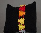 Colorful Bear Stretch Bracelet Childrens