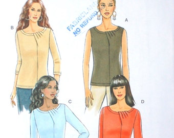 UNCUT Blouse Pattern with Variations Bust 30.5 - 34