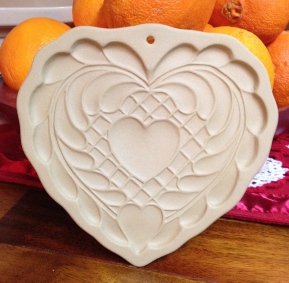 Brown Bag Cookie Art - Vintage Heart Mold!